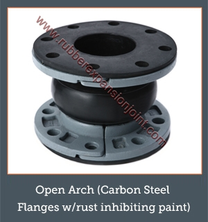 Open Arch (Carbon Steel Flanges w/rust inhibiting paint)