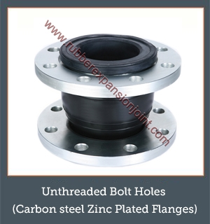 Unthreaded Bolt Holes (Carbon & Zinc Flanges)