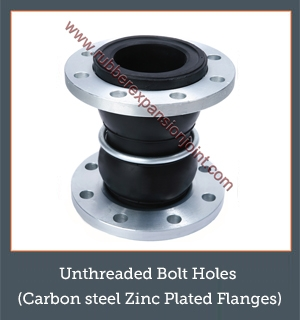 Unthreaded Bolt Holes (Carbon Steel Zinc Plated Flanges)